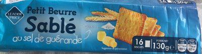 Petit beurre sablé au sel de Guérande - Produit