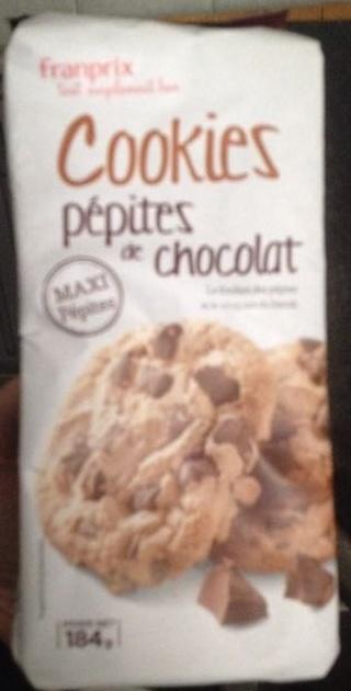 Cookies pépites de chocolat - Product - fr