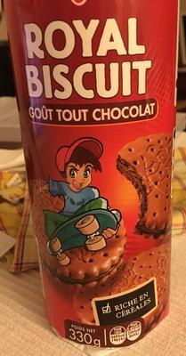 Royal biscuit goût tout chocolat - Produit - fr