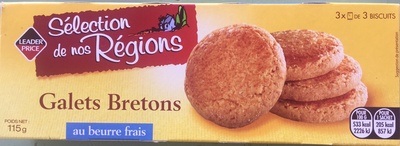 Galets Bretons au beurre frais - Produit