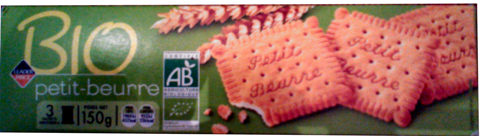 Biscuits petit-beurre - Product - fr