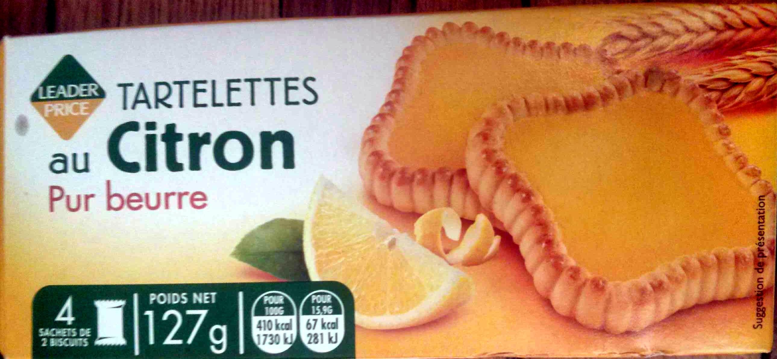 Tartelettes au Citron Pur Beurre - Produit