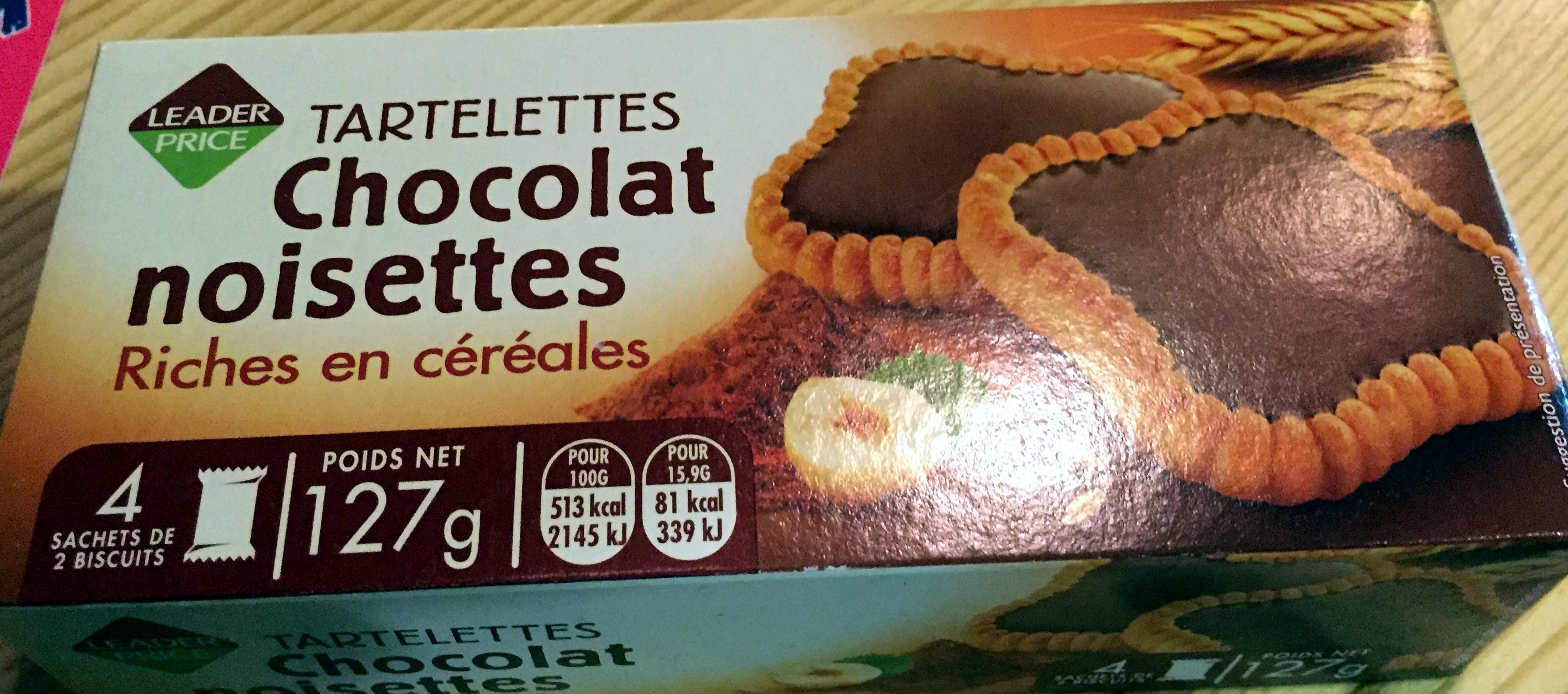 Tartelettes chocolat noisettes - Product - fr