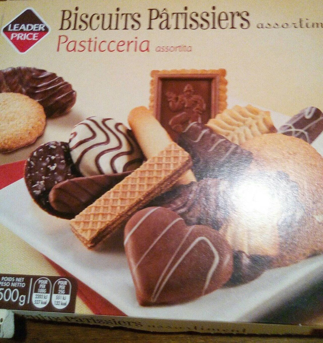 Assortiment de biscuits pâtissiers - Product
