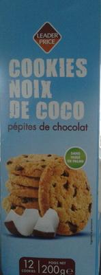 Cookies Noix de Coco pépites de chocolat (12 biscuits) - Produit