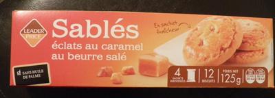 Sablés éclats au caramel au beurre salé - Produit - fr