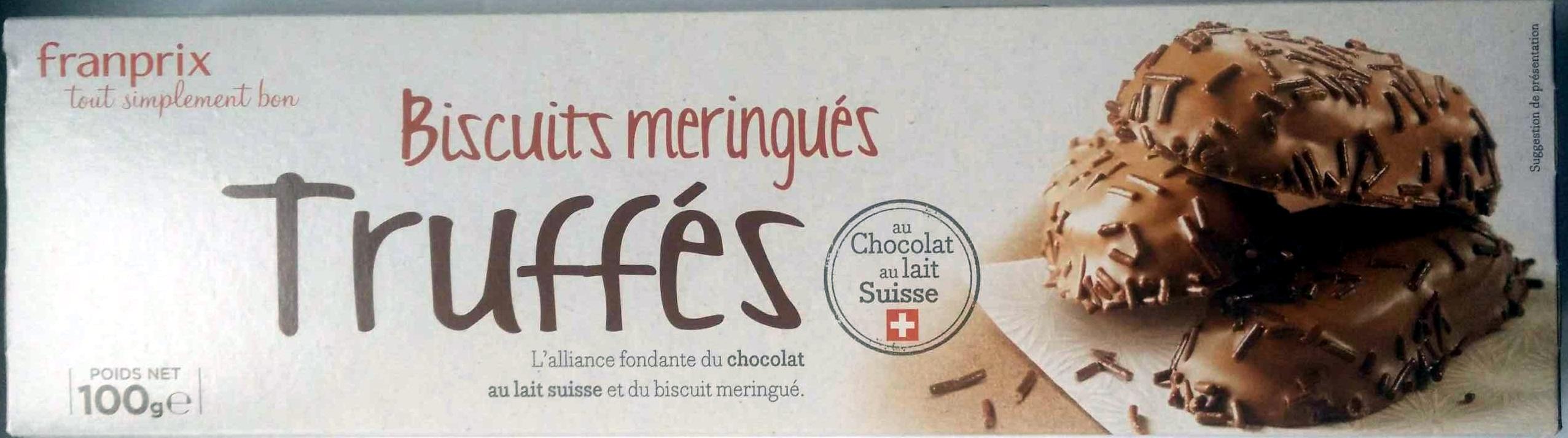 Biscuits Meringués Truffés - Product