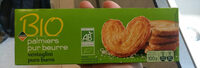 Palmiers pur beurre - Product - fr