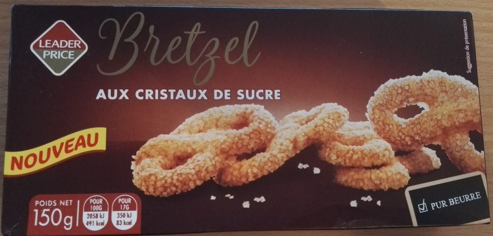 Bretzel aux cristaux de sucre - Product