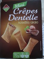 Mini Crêpes Dentelle Noisettes Cacao - Product