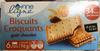 Biscuits Croquants goût Chocolat - Produit