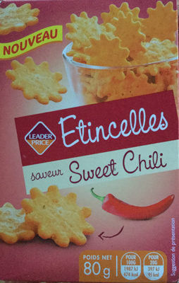 Étincelles - Biscuits saveur sweet chili - Prodotto - fr