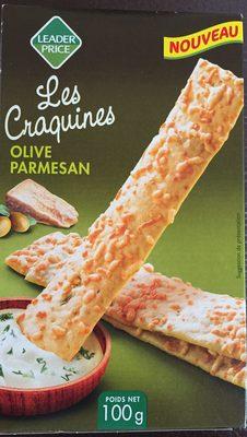 Les Craquines olive/parmesan - Produit