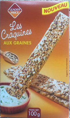 Les Craquines aux graines - Produit