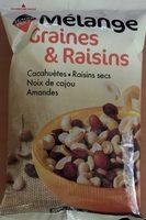 Mélange Graines & Raisins - Produit - fr