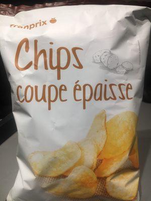 Franprix chips salées coupe épaisse - Produit