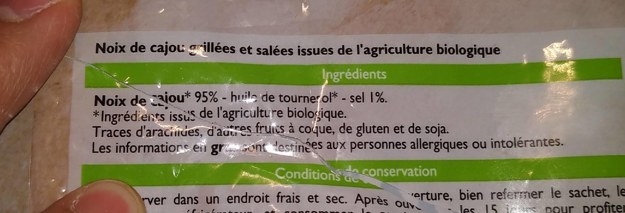 Noix de cajou - Ingrédients - fr