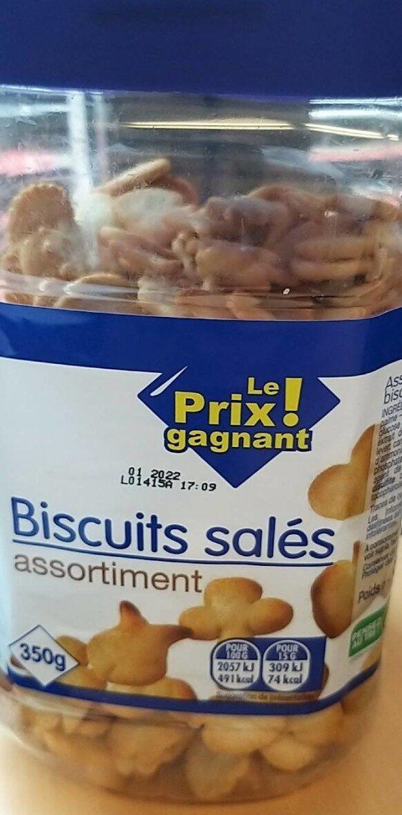 Biscuits salés assortiment - Produit - fr