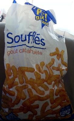 Soufflés goût cacahuète - Produit - fr