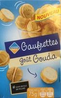 Gaufrettes goût Gouda - Product - fr