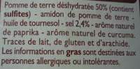 Chipsy croustillants - Ingrédients - fr