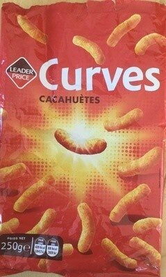 Curves cacahuètes - Product - fr