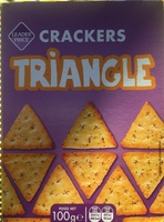 Crackers triangle - Product - fr
