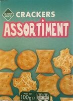 Assortiment crackers - Product - fr