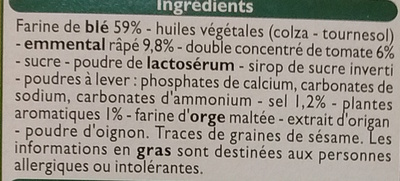 Crackers Pizza - Ingredients