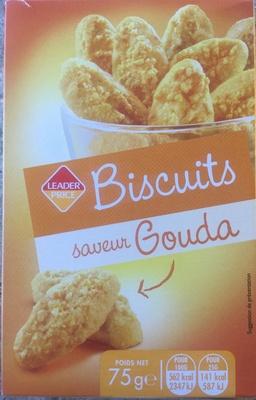 Biscuits saveur Gouda - Produit - fr