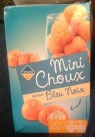 Mini Choux saveur Bleu Noix - Produit - fr