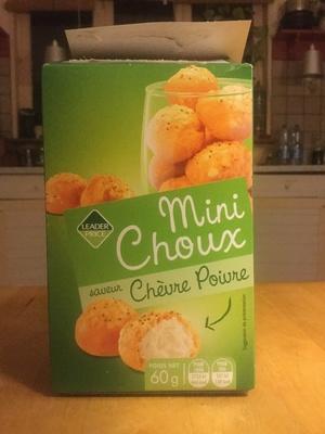 Mini choux saveur chèvre poivre - Produit - fr