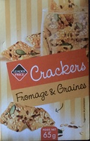 Crackers fromages & graines - Produit - fr