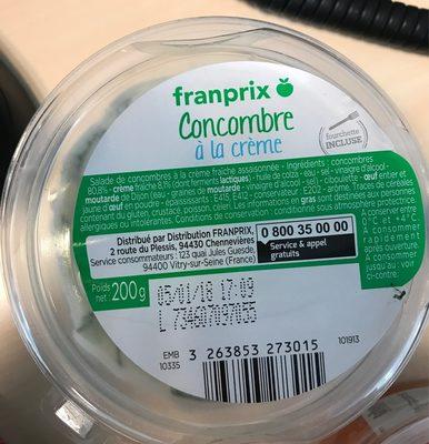 Concombre à la crème - Product - fr