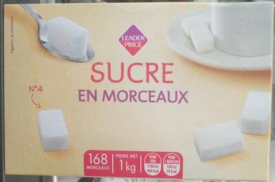 Sucre en morceaux - Produit