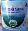 Eau minérale naturelle renforcée au gaz de la source - Product