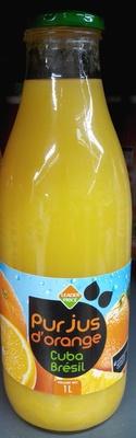 Pur jus d'orange Cuba Brésil - Product - fr