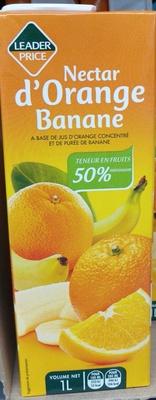 Nectar d'Orange Banane - Product