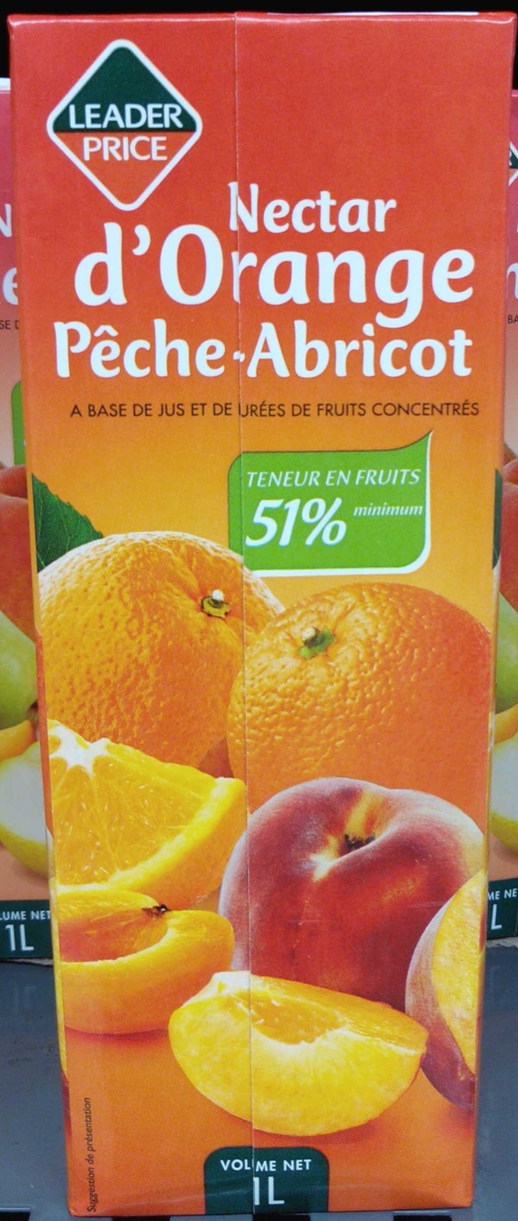 Nectar d'Orange Pêche-Abricot - Product