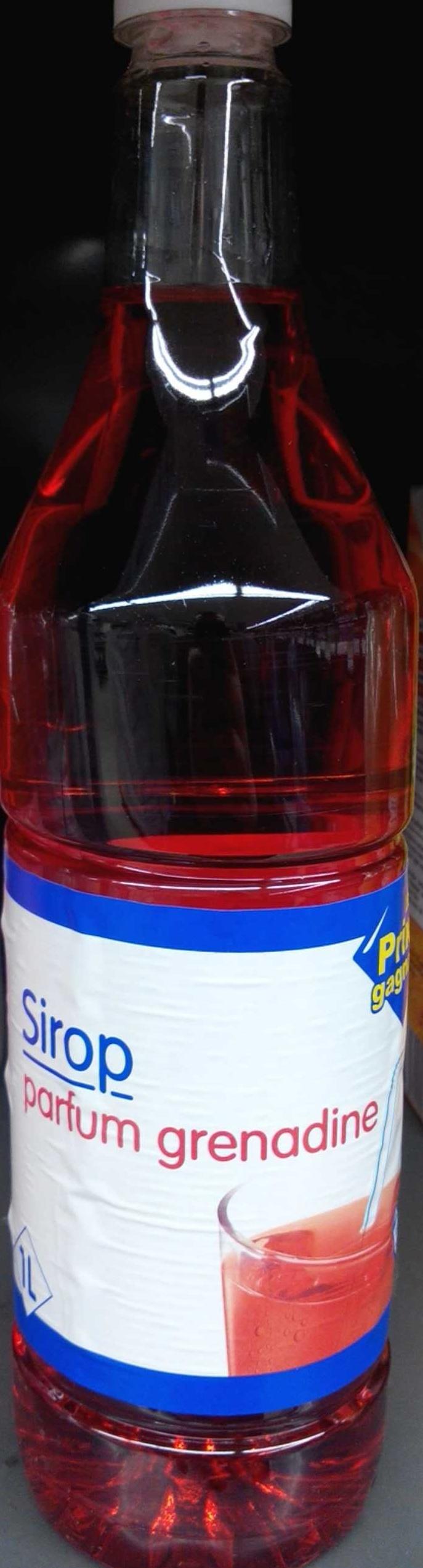 Sirop parfum grenadine - Produit - fr