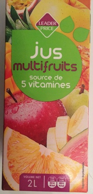Jus multifruits - Produit