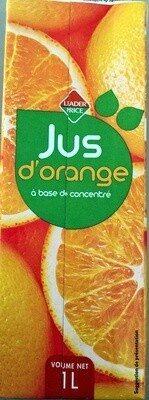 Jus d'orange à base de concentré - Product - fr