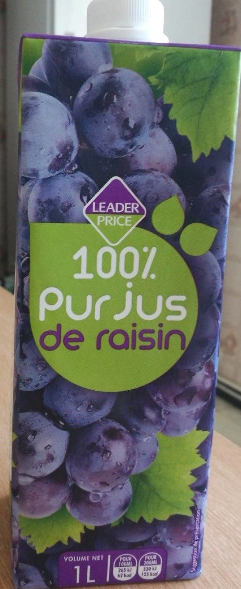100% pur jus de raisin - Product - fr
