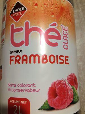 Thé glacé saveur framboise - Product - fr