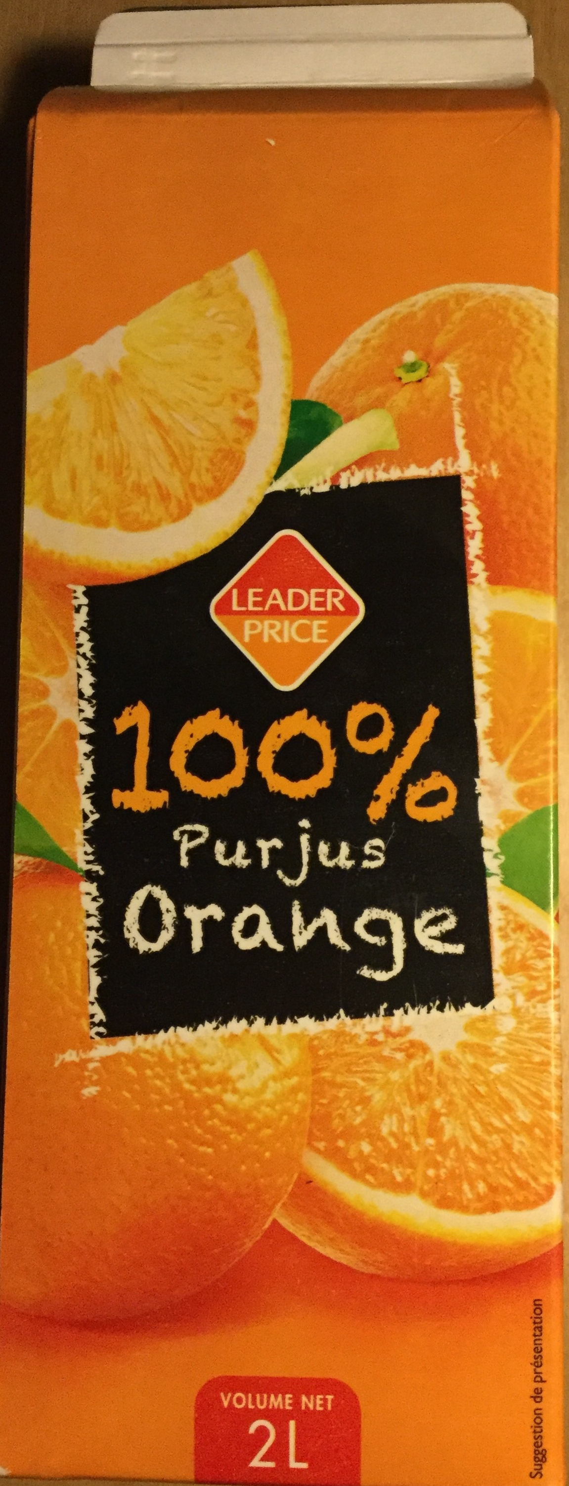 100 % Pur jus Orange - Produit - fr