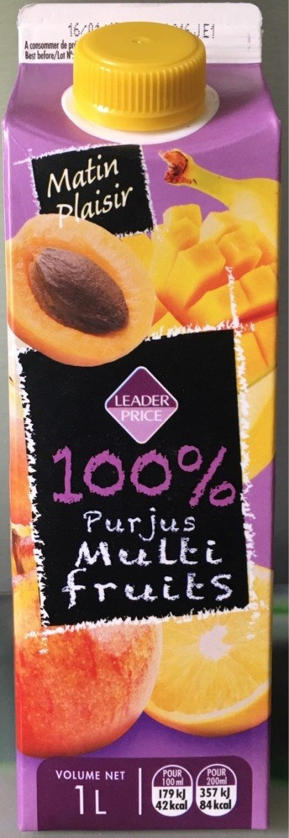 100% Pur Jus Multifruits - Produit