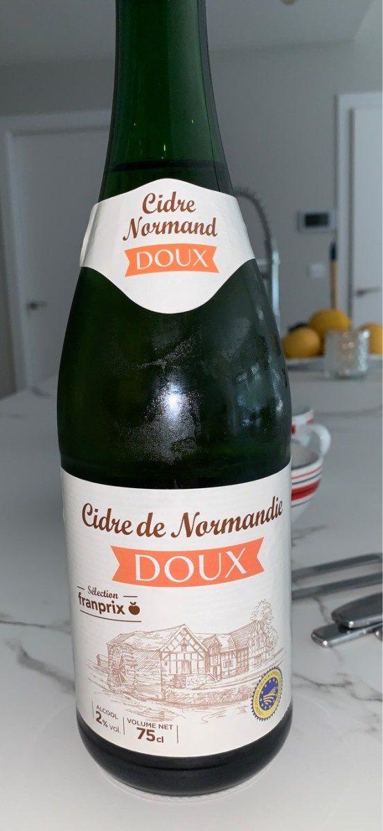 Cidre de Normandie doux - Product - fr