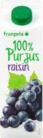 pur jus de raisin - Prodotto - fr