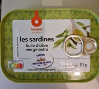 Sardines huie d'olive vierge extra - Produit - fr
