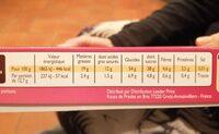 Cerise liqueur - Nutrition facts - fr